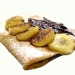 Crêpes à la banane et au nutella