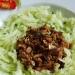 Salade de concombres à l'hareng saur
